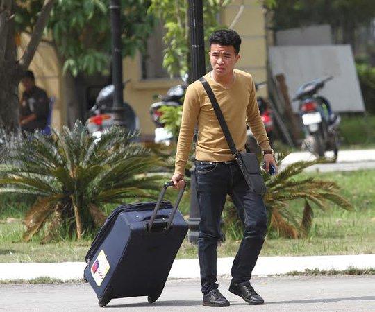 Tiền vệ Thanh Tùng vừa chấn thương nhưng vẫn kịp hồi phục trong đợt hội quân cùng Olympic Việt Nam
