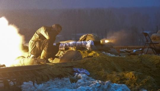 Hòa đàm thất bại giữa lúc chiến sự đang leo thang ở miền Đông Ukraine Ảnh: Reuters