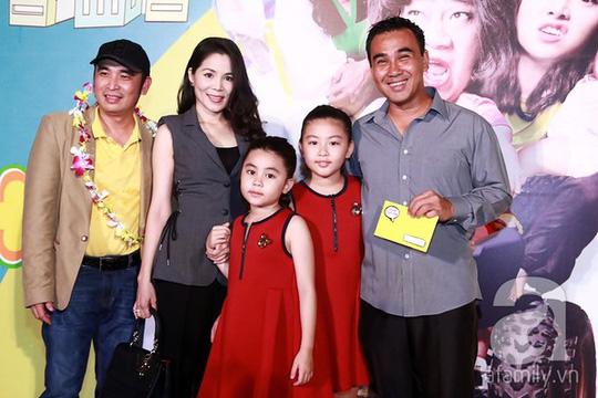 Vợ chồng Quyền Linh và đạo diễn Lê Bảo Trung