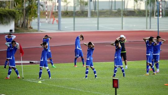Bí ẩn hàng công của HLV Miura khi đấu U23 Malaysia