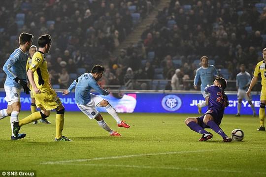 Villa ghi bàn cho New York City