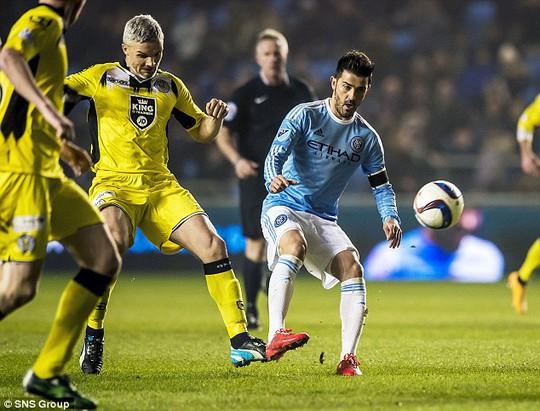 David Villa ghi bàn thắng lịch sử cho New York City