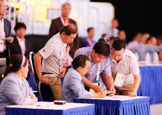 Trưởng đoàn taekwondo VN khiếu nại BTC