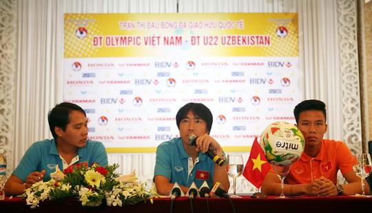 HLV Toshiya Miura của Olympic Việt Nam