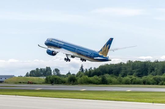 Chiếc máy bay Boeing 787-9 đầu tiên của Vietnam Airlines đã hoàn tất chuyển bay thử tại Mỹ