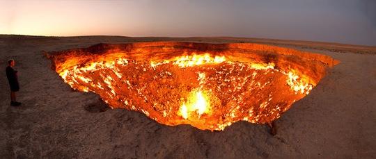Cánh cổng địa ngục ở Mỹ. Ảnh: Wikipedia