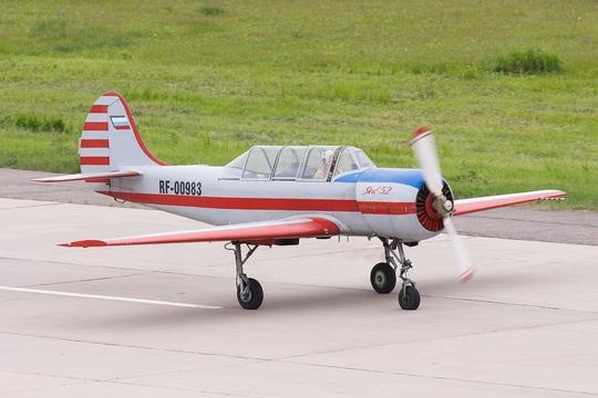 Một chiếc máy bay Yak-52. Ảnh: IBTimes
