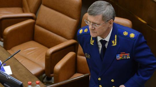Tổng công tố Liên bang Nga ông Yuri Chaika. Ảnh: RIA