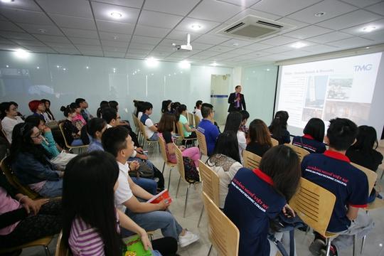 Học sinh Trường CĐ Nghề Việt Mỹ