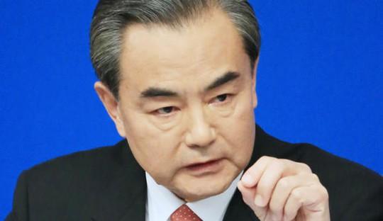 Ngoại trưởng Trung Quốc Vương Nghị công khai ủng hộ các biện pháp trừng phạt mới của Hội đồng Bảo an Liên Hiệp Quốc đối với Triều Tiên. Ảnh: Nikkei