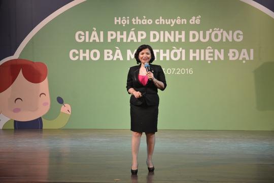 Bác sĩ CK2 Đỗ Thị Ngọc Diệp - Giám đốc Trung Tâm Dinh Dưỡng TP.HCM