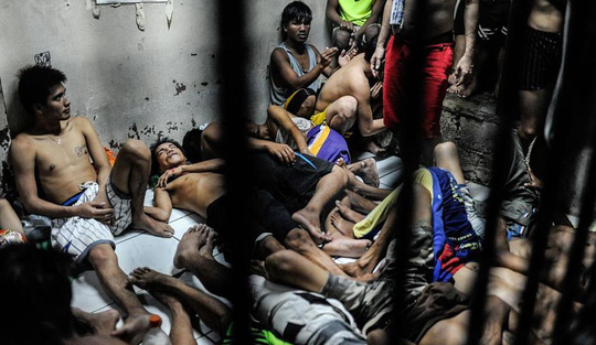 Một nhà tù ở Philippines. Ảnh: INQUISITR