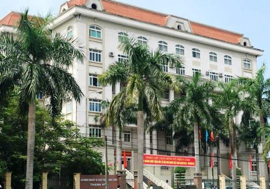 Sở NN-PTNT Thanh Hóa, nơi ông Lò Văn Lến đang công tác