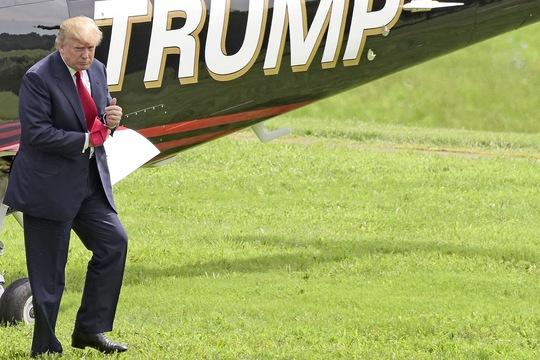 Tài sản của ông Trump đã hao hụt đáng kể. Ảnh: TARGET LIBERTY