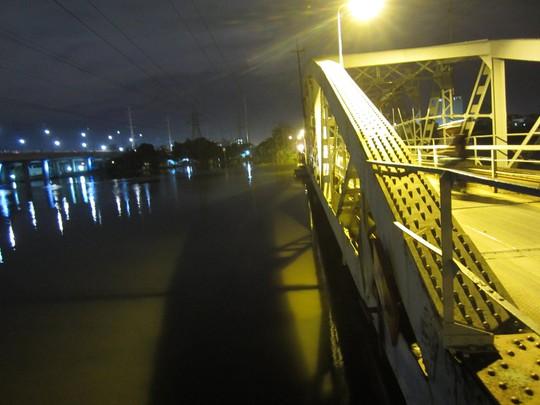 Đoạn sông Sài Gòn nơi nam thanh niên được cứu sống