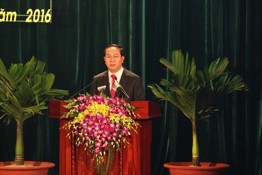 Chủ tịch nước Trần Đại Quang đọc diễn văn tại lễ kỷ niệm