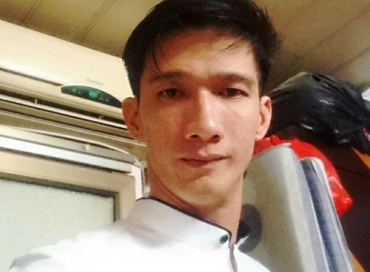 Nguyễn Quốc Cường thời điểm bị trinh sát úp sọt