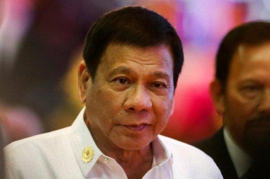 Tổng thống Duterte dự Hội nghị ASEAN tại Lào ngày 6-9. Ảnh: REUTERS