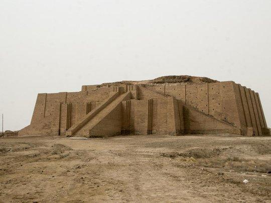 """Ngôi đền """"Ziggurat of Ur"""" khai quật vào những năm 1930. Ảnh: ISTOCK"""
