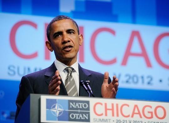 Ông Obama có truyền thống bỏ phiếu sớm ở TP Chicago. Ảnh: TRUE STAR
