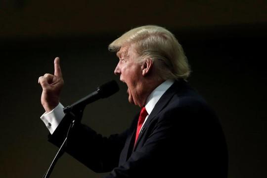 Ứng cử viên tổng thống đảng Cộng hòa Donald Trump. Ảnh: REUTERS