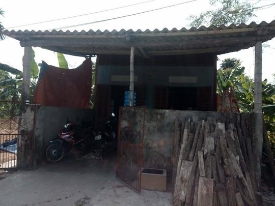Nhà em Bùi Đoàn Quang Huy - Ảnh: CTV