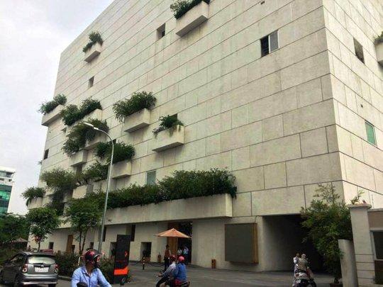 Tòa nhà Gem Center nơi xảy ra vụ trộm
