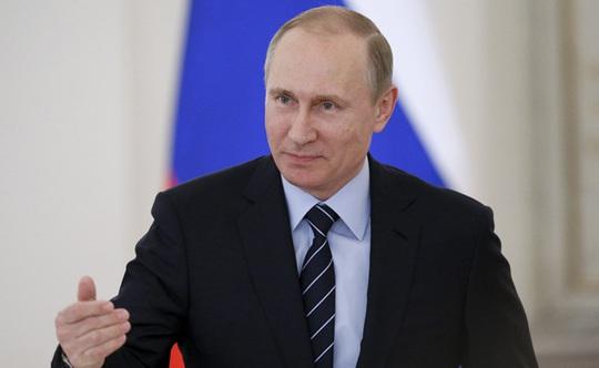 Ông Putin chỉ trích Pháp về nghị quyết Syria. Ảnh: REUTERS