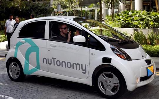 Một chiếc xe không người lái của nuTonomy. Ảnh: REUTERS