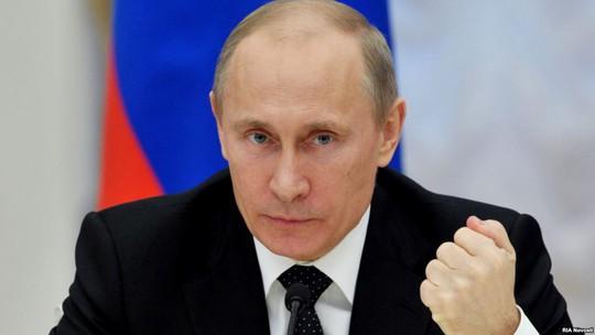 Tổng thống Nga Vladimir Putin. Ảnh: RIA NOVOSTI