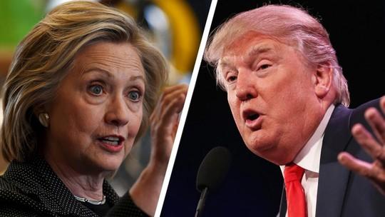 Người Mỹ gốc Việt phân vân giữa ông Trump (phải) và bà Clinton. Ảnh: THE FISCAL TIMES