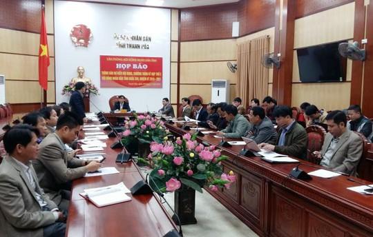 HĐND tỉnh Thanh Hóa họp báo thông tin về kỳ họp thứ 2, HĐND tỉnh Thanh Hóa khóa XVII