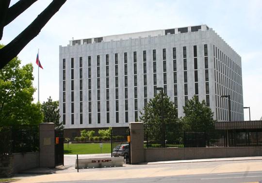 Đại sứ quán Nga tại Washington. Ảnh: WIKIMEDIA