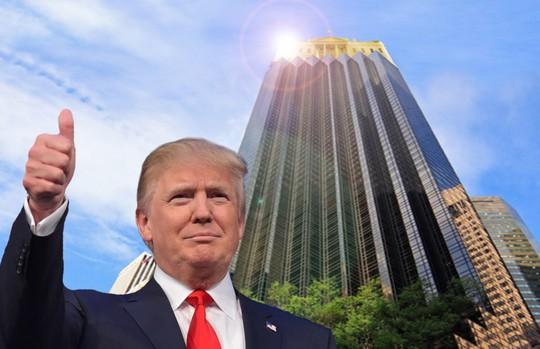 Tháp Trump là nơi sinh sống và trụ sở đế chế kinh doanh toàn cầu của ông Trump. Ảnh: INHABITAT