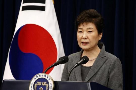 Tổng thống Park Geun-hye chính thức bị truy tố. Ảnh: REUTERS