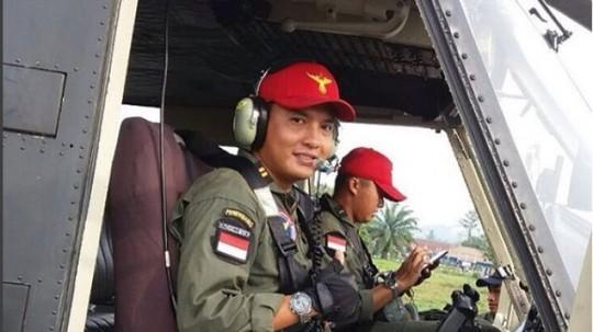 Anh Syahputra mất tích sau một vụ rơi trực thăng quân đội và được tìm thấy tối 8-12. Ảnh: INSTAGRAM