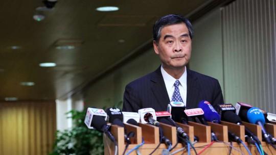 Đặc khu trưởng Hồng Kông Lương Chấn Anh. Ảnh: SCMP