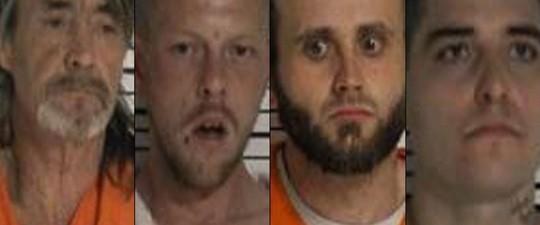 Bốn trong số sáu tù nhân vượt ngục. Ảnh: TWITTER