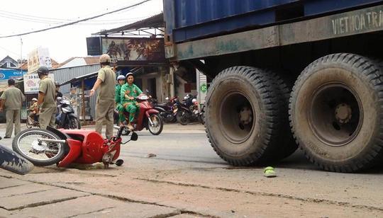Hiện trường vụ tai nạn
