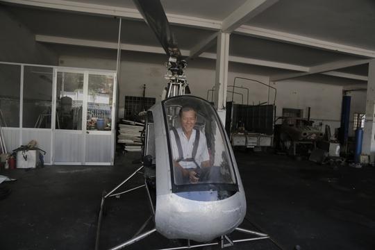 Ông Hiển mong muốn làm một phiên bản trực thăng hoàn hảo hơn chiếc Giấc Mơ