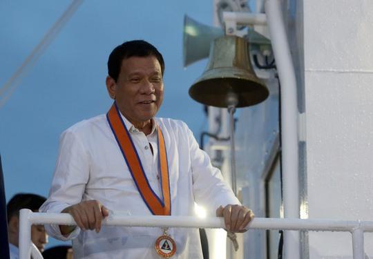 Tổng thống Philippines Rodrigo Duterte. Ảnh: Rappler