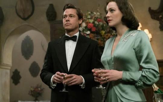 Brad Pitt và Marion trong phim