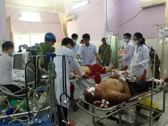 Thầy Tuệ đang cấp cứu tại bệnh viện