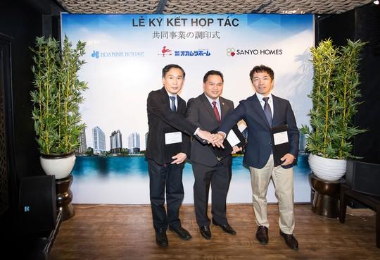 Lễ ký kết hợp tác giữa các đối tác Nhật và Hoa Binh House