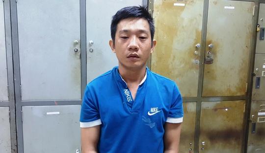 Nghi can Nguyễn Văn Viện tại cơ quan công an