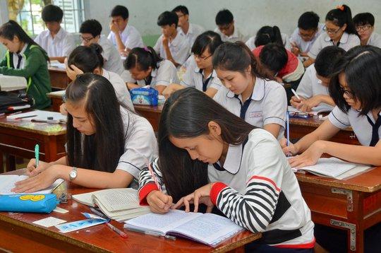 Việc đánh giá học sinh THPT cần có thay đổi, tránh việc sửa điểm Ảnh: TẤN THẠNH