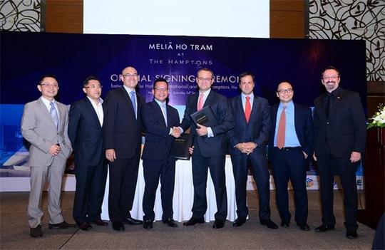 Lễ ký hợp tác giữa Tập đoàn Melia và Tanzanite International