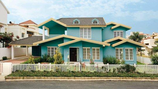 Chọn màu sơn ngoại thất là bước quan trọng cuối cùng để hoàn thiện căn nhà