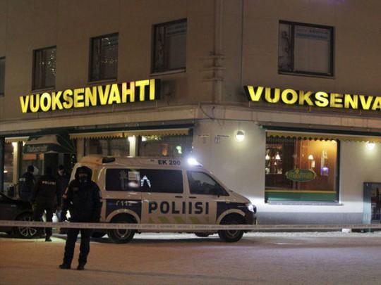 Cảnh sát phong tỏa hiện trường. Ảnh: AP