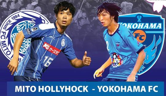 CĐV Việt Nam hy vọng sẽ được dịp xem Công Phượng so tài Tuấn Anh tại J-League 2 Ảnh: J-LeaguE